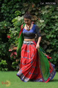 Pink ANd Blue fancy navratri Lehenga Choli #NavratriCollection
