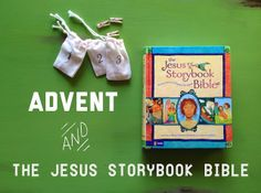 Counting down the days till Christmas using The Jesus Storybook Bible #Christmas #advent #children