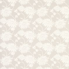 Kimono Dove Grey Floral Wallpaper  A floral design surface printed washable wallpaper, suitable for all rooms and well ventilated kitchens and bathrooms.  £25.20 per roll  was £36.00