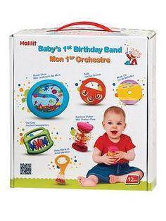 Halilit BABY/'S 1ST BIRTHDAY MUSIC SET Baby Child Infant Fun Play Toy BN