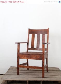 This Mission Style Chair Would Look Great In Our California Craftsman Bungalow Santa Monica