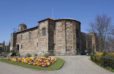 The complete Norman Castle built by William the Conqueror in 1069. Colchester Castle, Essex, UK