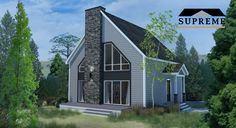 The perfect cottage Different Architectural Styles, New House Plans, Cottage Homes, Modern Contemporary, Manchester, Supreme, Shed, New Homes, Outdoor Structures