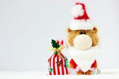 Mr. Santa Claus  OOAK Collectible Miniature Teddy Bear