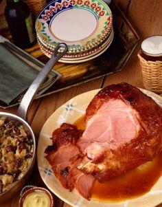 Crockpot Honey Mustard Ham Recipe