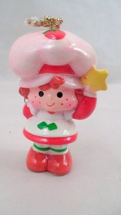 Vintage american greetings strawberry shortcake ceramic christmas vintage american greetings strawberry shortcake ceramic christmas ornament bell american greetings and vintage strawberry shortcake m4hsunfo