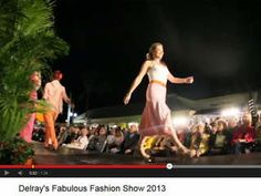 Downtown Delray Beach is kicking off its Delray's Fabulous Fashion Week Saturday night with a champagne and swimsuit event, hosted by NewsChannel 5's Ashleigh Walters