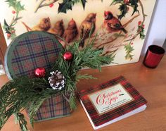 A sweet vignette fro Christmas!