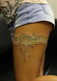 3D lace tattoo - 70 Amazing 3D Tattoo Designs