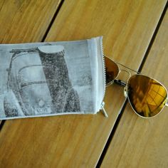 Create your very own sunglasses case using your favorite image.