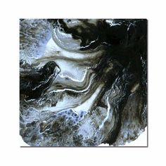 Black Velvet Abstract Art