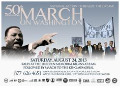 The planned March on Washington, 2013