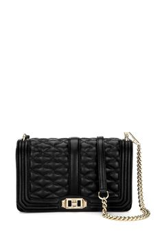 Love Crossbody - Meet your new going-out bag. Featuring eye catching hardware, the Love Crossbody is a match made in heaven with any outfit. Wear it crossbody or remove the chain strap to use it as a clutch.   Not Eligible For Promotion
