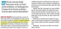 """Under overskriften Cykelby? Vorherre bevares leverer Per Meldgaard en humoristisk klumme i Amtsavisens Randers Weekend om det tåbelige i at nogen har placeret Randers i et hul. Han spørger bl.a. hvad Jens Peter """"Pedal"""" Hansen vil gøre? Mit svar - som jeg lancerede for vel 5 år siden er : El-cykler. Kunne være spændende med en lift som man f.eks. har i Trondheim, men der er for mange tværgående vejer på Vestervold."""