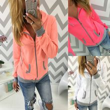 New Women's christmas Winter Hoodie Sweatshirt Jumper Sweater Hooded Pullover Top(China (Mainland))