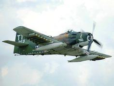 "Douglas A-1H Skyraider ""Naked Fanny"""