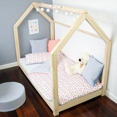 Benlemi Dětská postel ve tvaru domečku, 160x70 cm