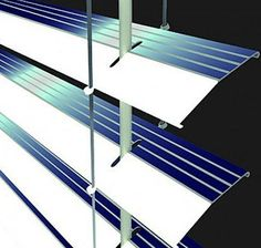 Solar Lighting Window Blinds | Cool Solar Powered Inventions