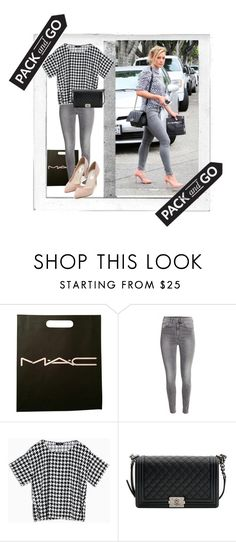 """""""Duff"""" by mary-thor ❤ liked on Polyvore featuring Polaroid, MAC Cosmetics, H&M, Max&Co., Chanel and Nly Shoes"""