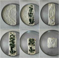 Zaatar, ένα φανταστικό επίπεδο ψωμί από την Παλαιστίνη ⋆ Cook Eat Up! Cheese Pies, Greek Recipes, Food And Drink, Plates, Vegan, Cooking, Tableware, Tarts, Pizza