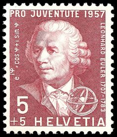Euler Switzerland Stamp