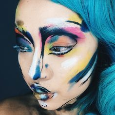 Thanks @limecrimemakeup for featuring me. You just gave me the greatest start to the week ! And hello to all of my new 3000+ followers. I will try make my instagram as interesting as possible and hopefully I can keep inspiring you guys with my work that I put all my love into. You guys are my motivation ✌️#becreative #art #annabellstyle