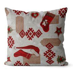 Poszewka dekoracyjna JESS Natale 40x40 Christmas Stockings, Merry Christmas, Throw Pillows, Holiday Decor, Home Decor, Merry Little Christmas, Toss Pillows, Cushions, Merry Christmas Love