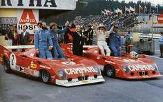 Sports Car Racing, Road Racing, Sport Cars, Auto Racing, Ferrari, T2 T3, Classic Race Cars, Gilles Villeneuve, Funny Pictures For Kids