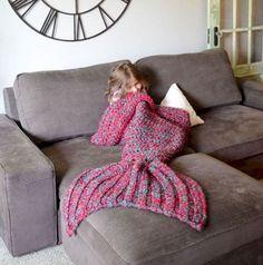 Mermaid Crochet Blanket - lots of free patterns