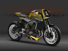 Yamaha FT-09 by AD Koncept ©DR