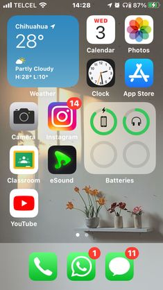 Phone Organization, Organizing, App, Ipod Touch, Iphone Se, Homescreen, Android, Wallpapers, Heart