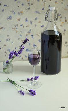 Levendula & Csokoládé: Levendulaszirup Cooking Tips, Cooking Recipes, Limoncello, Kraut, Preserves, Pickles, Red Wine, Healthy Lifestyle, Glass Vase