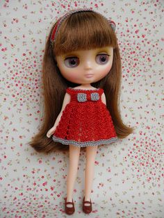 New Middie blythe dress by Leshan1, via Flickr