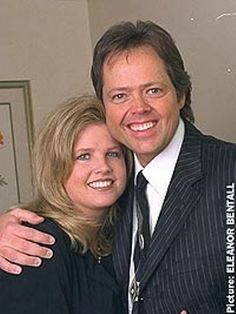 Jimmy Osmond and Michelle Larson
