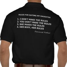 Feminist Dad Rules for Dating My Daughter