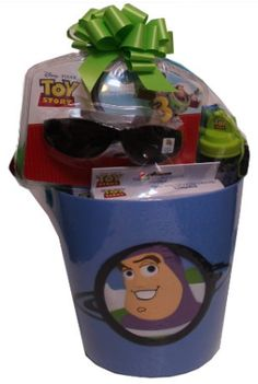Pre-Made Easter Basket for Boys:  Disney Pixar Toy Story Summer Fun Gift Basket at Amazon