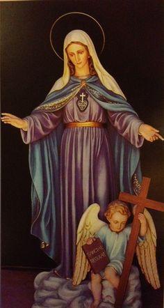 #marystatue #rosary