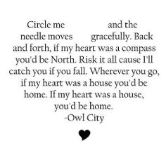 If My Heart Was a House ~ Owl City