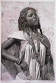 A moor authentic version of the Kabyle Berber before numerous admixture with foreigners to North Africa.Nowadays the Kabyle berber tribes in the Djurdjura Mountains don't really come as dark or Swarthy as this anymoor.This type Of Berber is what a Gaetuli/Mauri/jCarthaginian/ or Numidian would Of looked like and their still some very dark ones present in the Kabyle but not since the 1800-1900 the Muladi mixed types have become moor numerous do to French Occupation.Algeria
