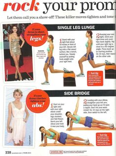 Rock Your Prom Dress Workout pt. 1 - Seventeen Magazine