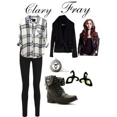 """""""Clary Fray"""" by weasleysweaters on Polyvore"""