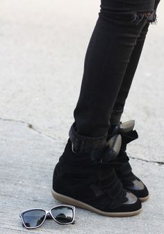 Isabel Marant sneakers via Sincerely, Jules