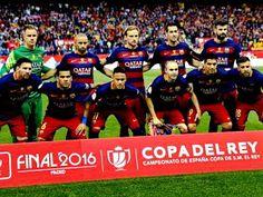 EQUIPOS DE FÚTBOL: F. C. BARCELONA Campeón de la Copa del Rey 2015-16