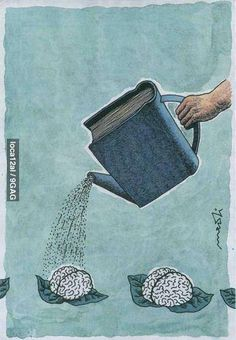 books nurture your brain!