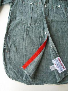 engineered garments chambray workshirt