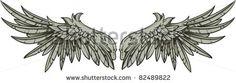 Tattoo, wings, alas