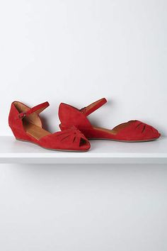 Lily Cutout Wedges - anthropologie.com