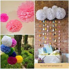 pompons decoração - Pesquisa Google