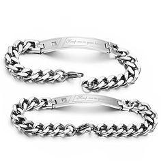 Flongo 2PCS Partner Edelstahl Armband Armreif Link Handge... https://www.amazon.de/dp/B00SFH9BP0/ref=cm_sw_r_pi_dp_x_a2skyb82ZXZRA