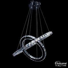 (56.45$)  Buy here  - Modern LED Crystal Chandelier Lights Lamp For Living Room Cristal Lustre Chandeliers Lighting Pendant Hanging Ceiling Fixtures